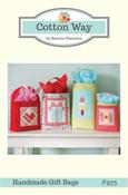 Image of Handmade Gift Bags PDF Pattern #973