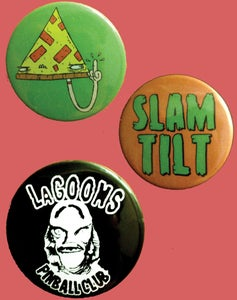 Image of Slam Tilt Badge pack