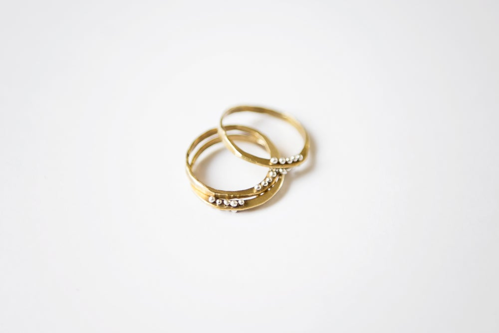 Image of Petite bit ring