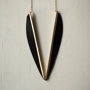 Image of Double Arrow Necklace