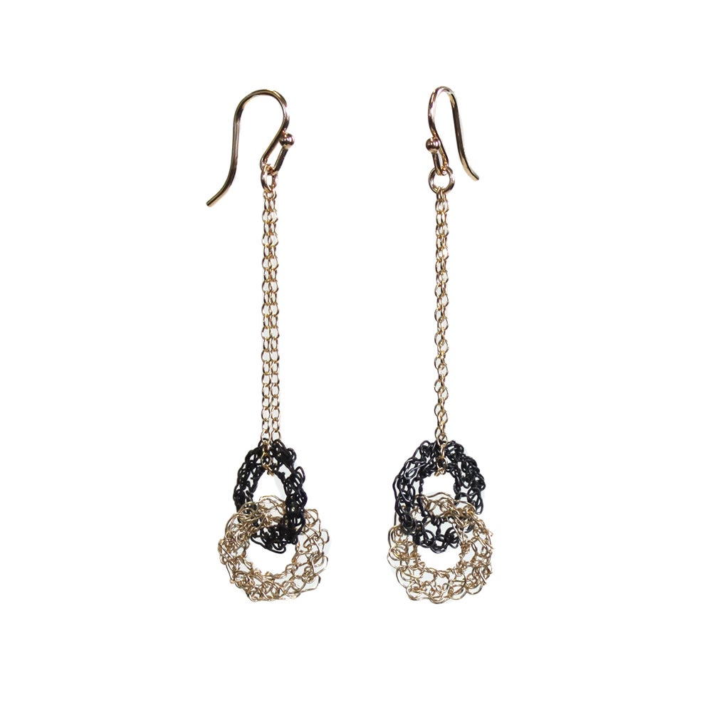 Image of Puzzle Earrings