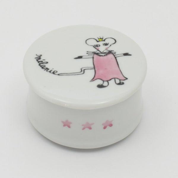 Image of Boîte à dents fille souris