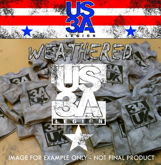 Image of US 3A Legion Shirt - Weathered