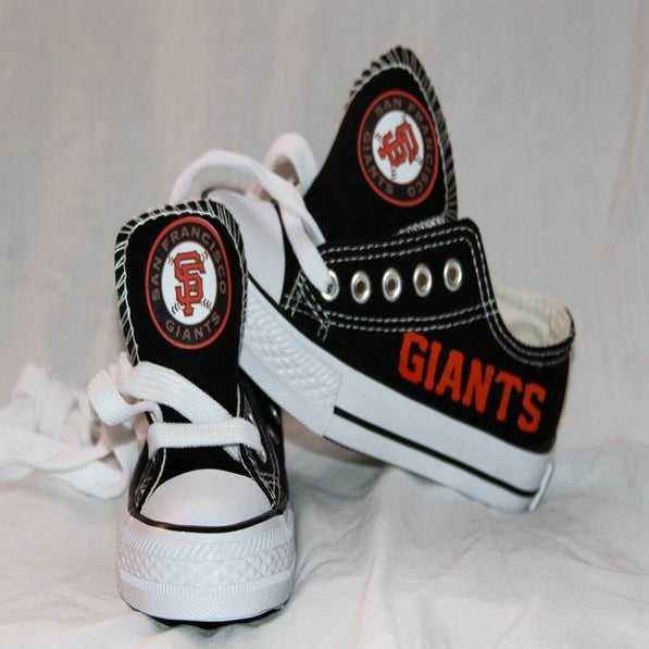 SF Giants Custom Shoes