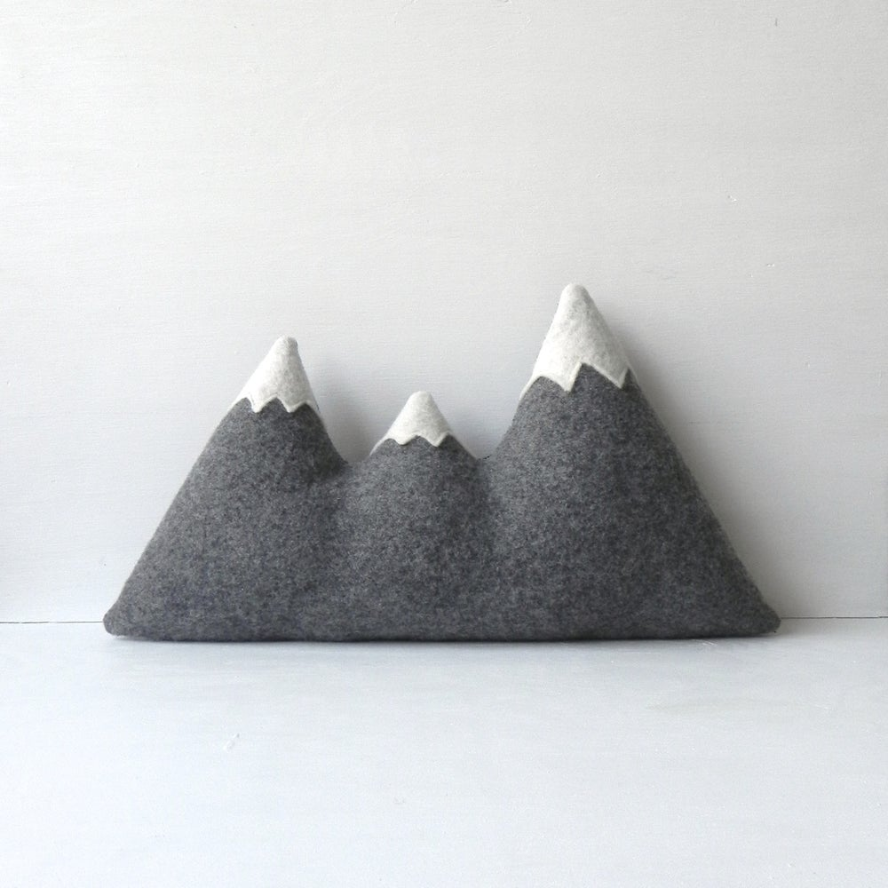 Image of the Sisters ORIGINAL Mountain Pillow