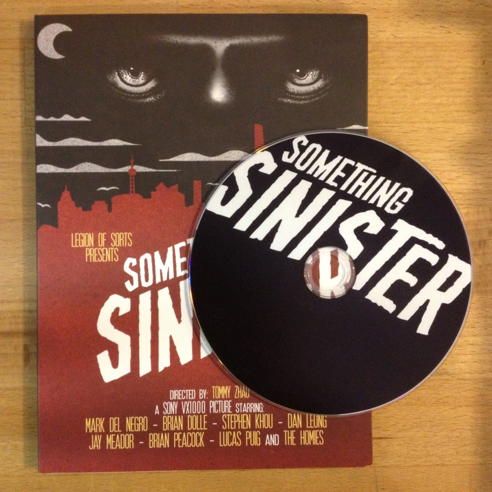 Image of Something Sinister DVD