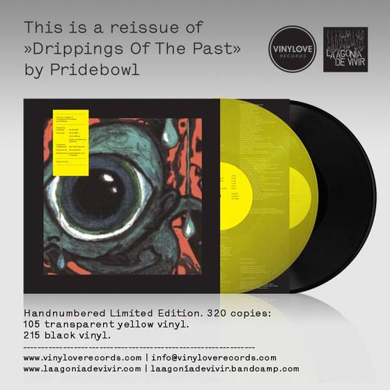 "Image of LADV31 - PRIDEBOWL ""drippings of the past"" LP REISSUE"