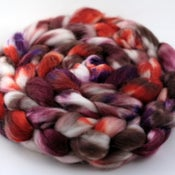 Image of Lady Mary - Superwash Merino/Cashmere/Silk Wool Top/Roving