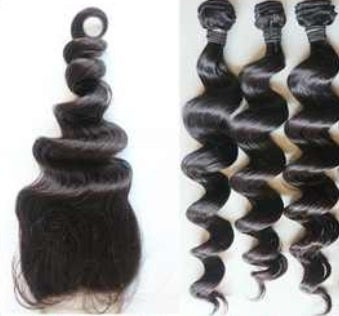 Image of Weft bundles + top closure deal