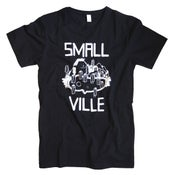 Image of Smallville Shirt Logo- black/ white