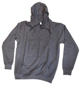 Image of Smallville Hoodie Bear- dark heather grey/ black