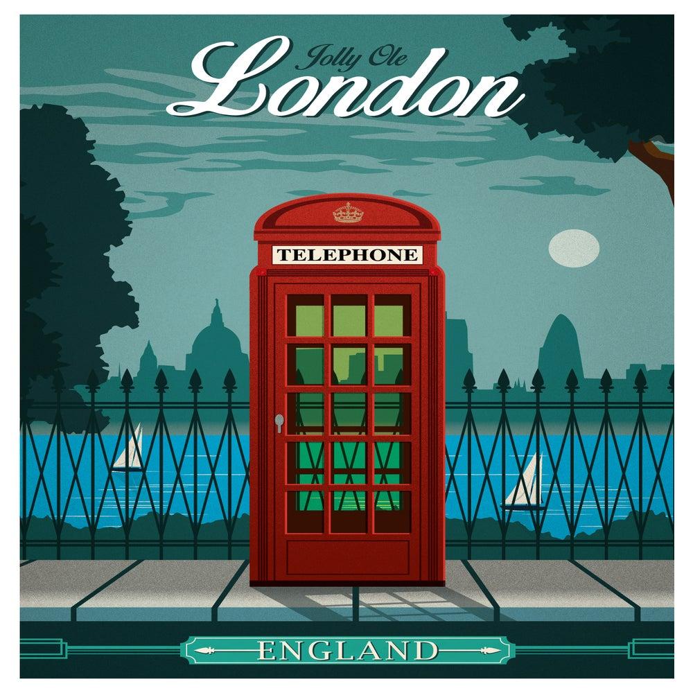 IdeaStorm Media Store — Vintage London Travel Poster