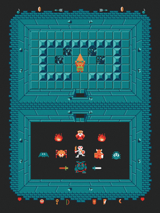 "Image of ""The Legend of Zelda: Level One"" by Harlan Elam"