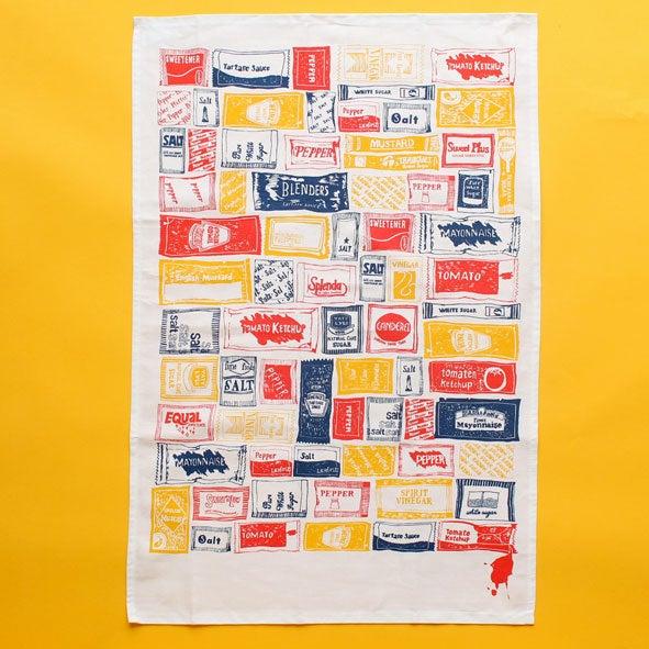 Image of Sachet Repeat Tea Towel