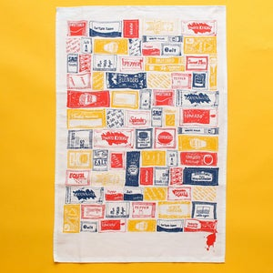 Image of Sachet Repeat Tea Towel