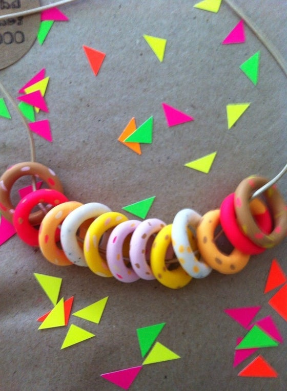 Image of Yo-Yo necklace one-off 3