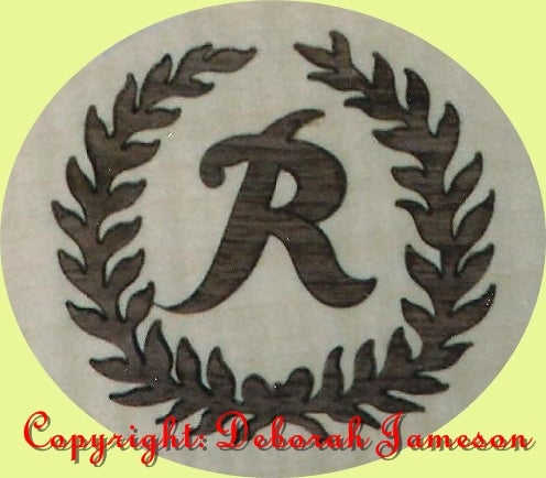 Image of Item No. 106. YOUR MONOGRAMME with Laurels.