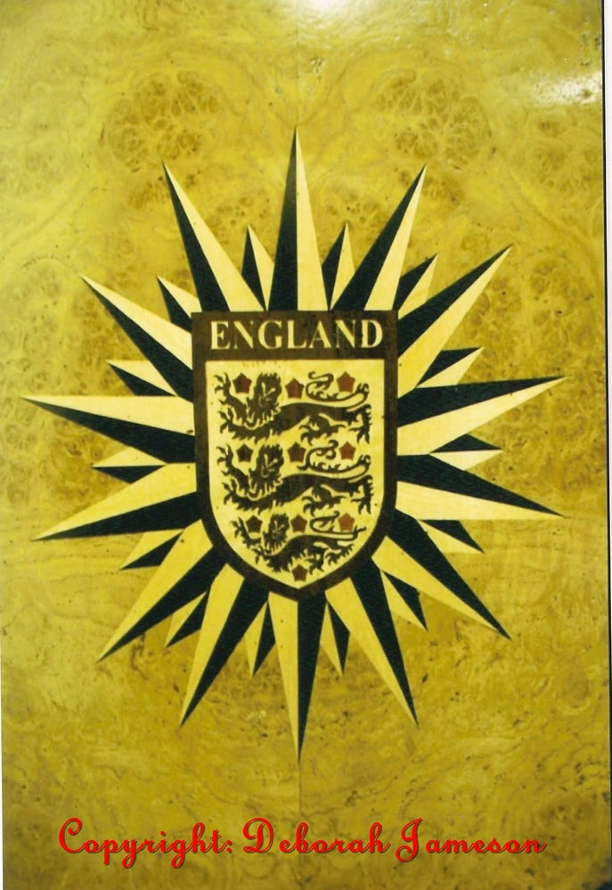 Image of Item No. 65. Desk Panel for a National Football Team.