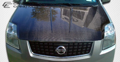Image of (B16) Carbon Fiber Hood 07-12 All Sentra