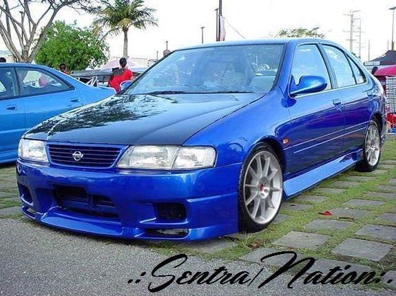 (B14) Carbon Fiber Hood 95-99 All Sentras/200sx / Sentra ...