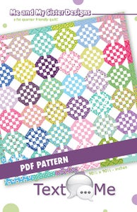 Image of Text Me PDF pattern