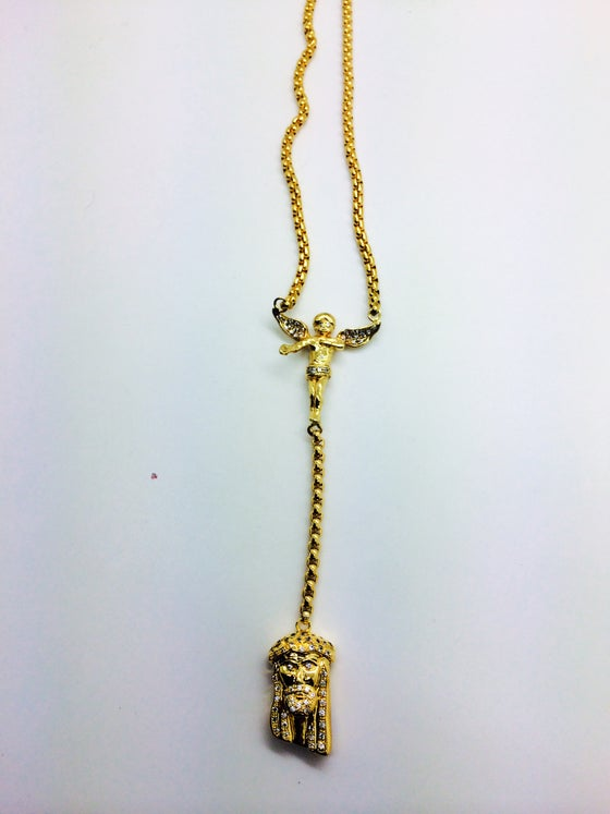 Image of Rosary Inspired Necklace