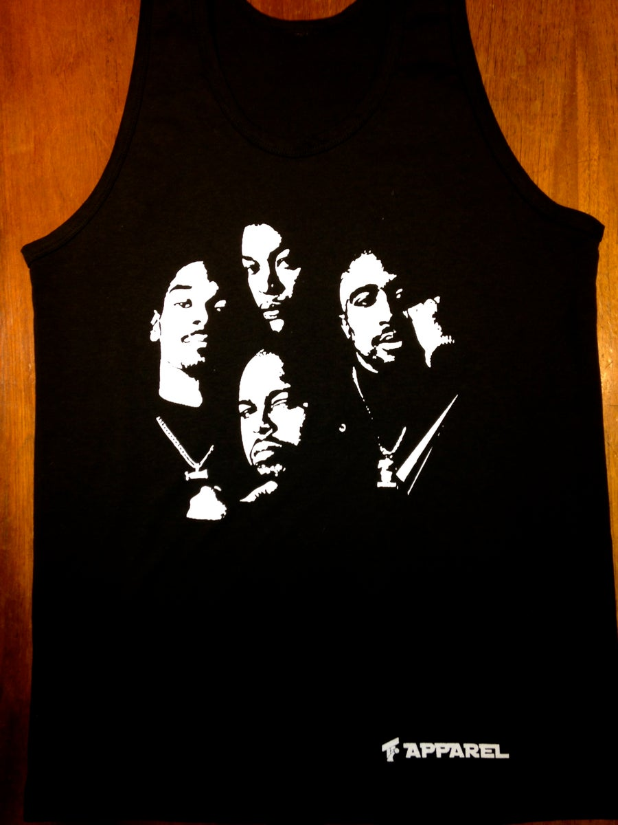 Image of Death Row Records Tank-Top