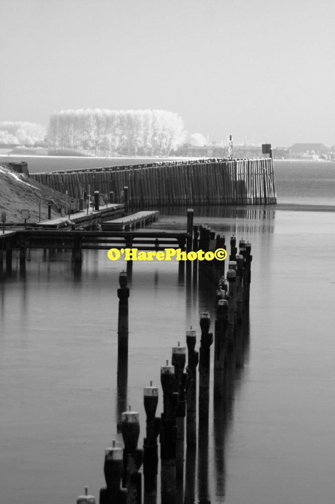 Image of VEERE HARBOR • Custom Matted