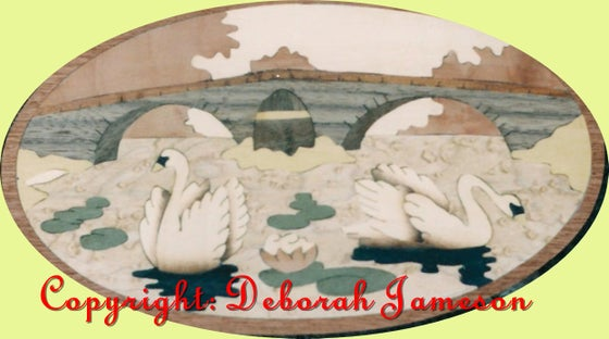 Image of Item No. 185.  Swans  - two designs here.