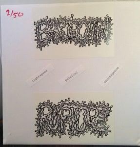 "Image of BARTHOLIN / RUPTURE- Lightspeed Parallel Convergence split 7"" lathe *ONE PER CUSTOMER* (TR-12)"
