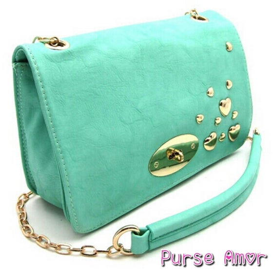 "Image of ""Happiness"" Republic Mint Shoulder Bag"