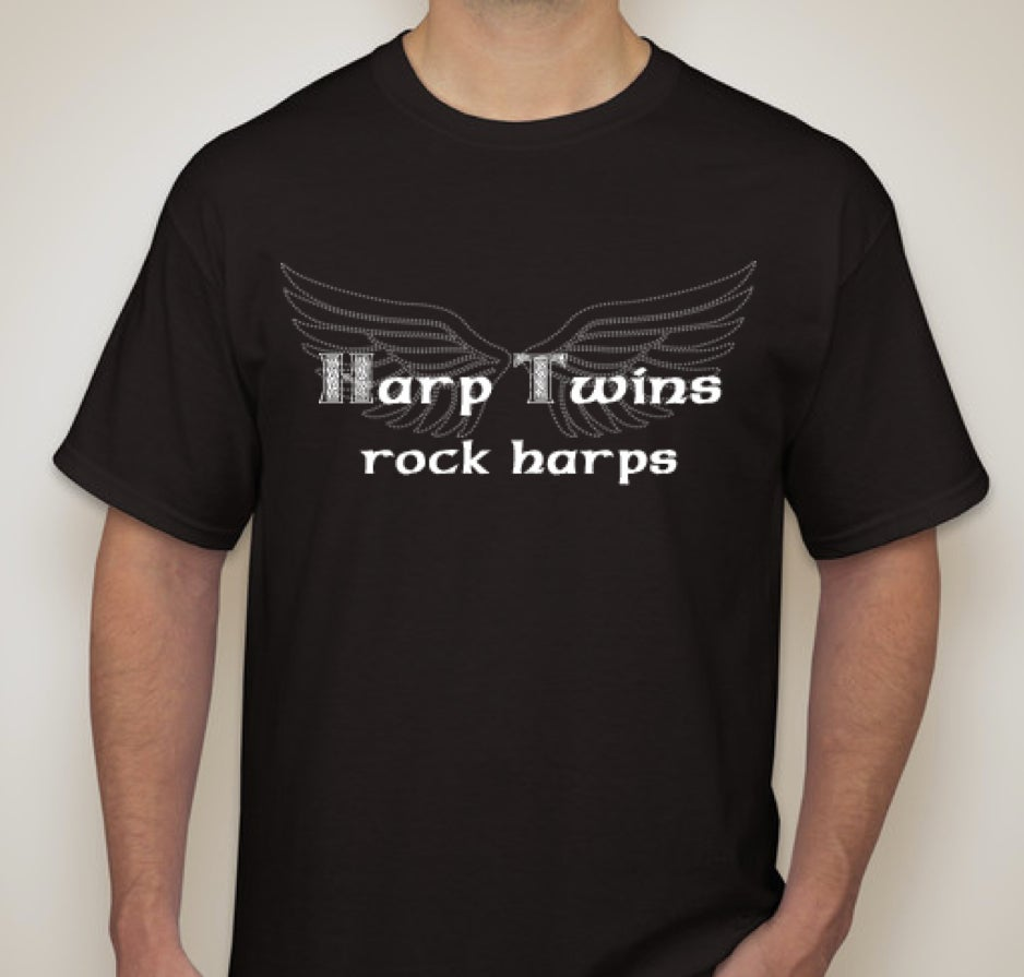 Image of Harp Twins Rock Harps T-Shirt