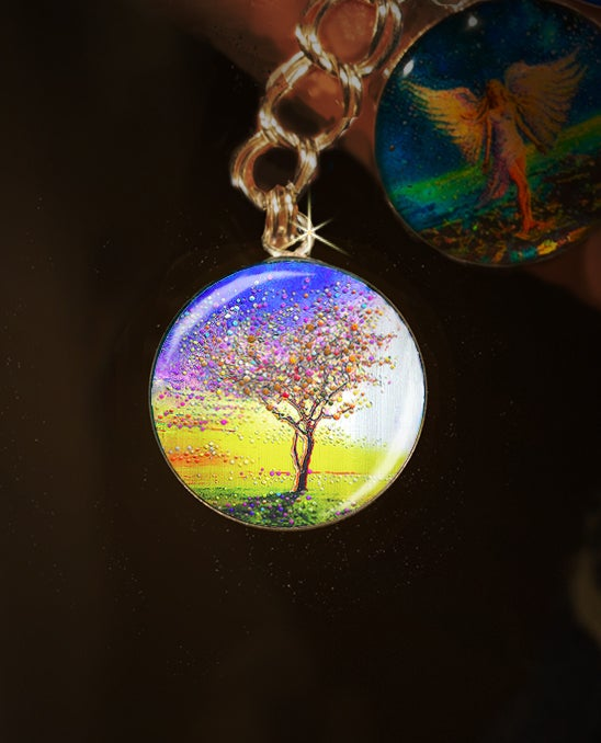 Image of The Peace Tree Charm - Find deep inner peace and neutralize toxic people.