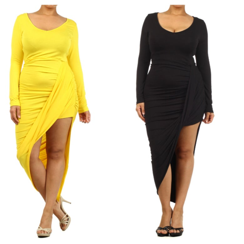 Image of Plus Size High Low Dress