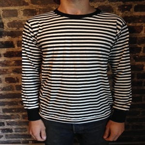 Image of The Lousy T Shirt BLK/WHT