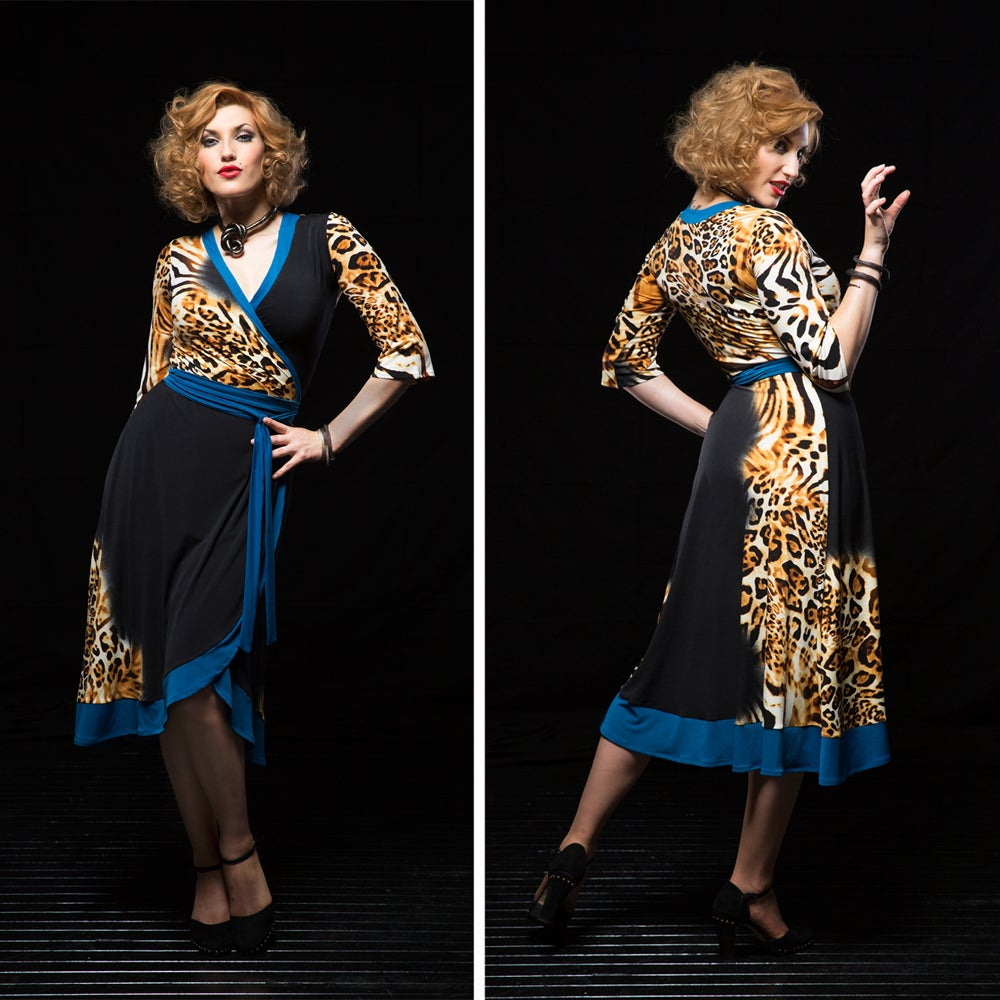 Image of LILIANA WRAP DRESS 2