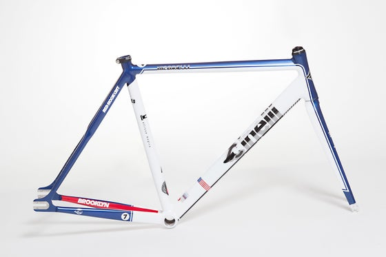 Image of Cinelli Vigorelli Red Hook Crit NYC Special Replica Frame-Kit Limited Edition