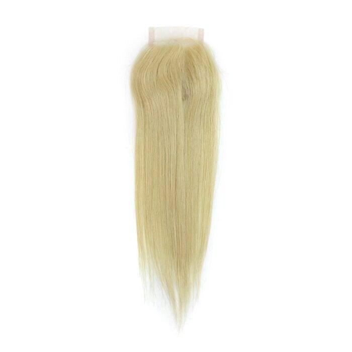 Image of Brazilian Platinum Blonde Lace Closure
