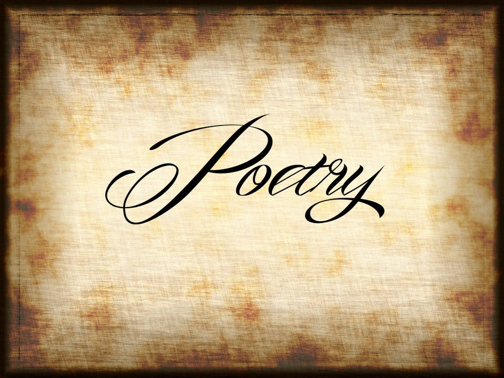 Image of POETRY OF YOUR CHOICE