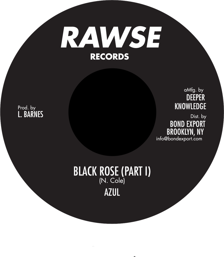 "Image of Azul - Black Rose 7"" (Rawse)"