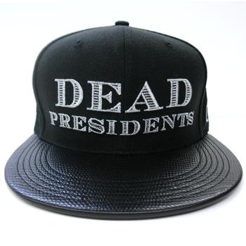 Image of Dead Presidents Strapback (Black/White)