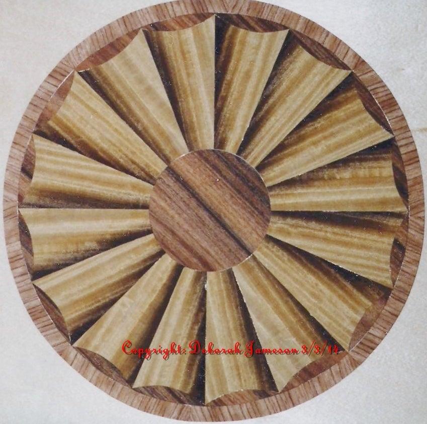 Image of Item No. 131. Sunburst Fan.