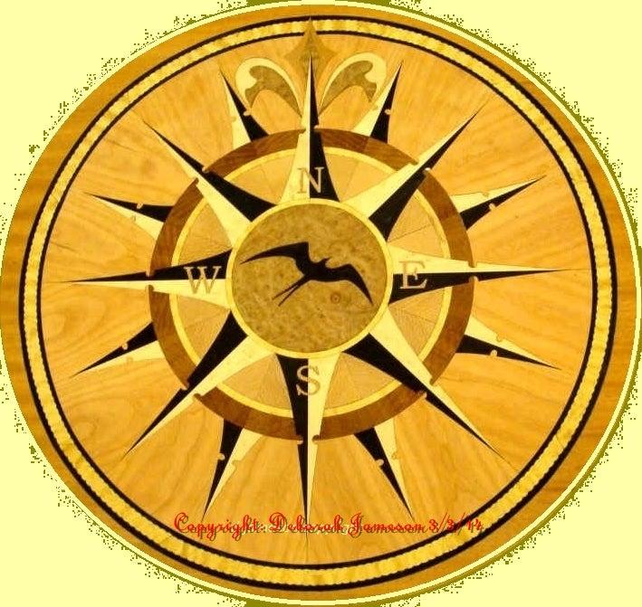 Image of Item No. 146. Nautical Compass Star.