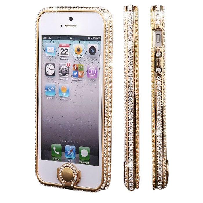 Image of Luxury Diamond iPhone Bumper