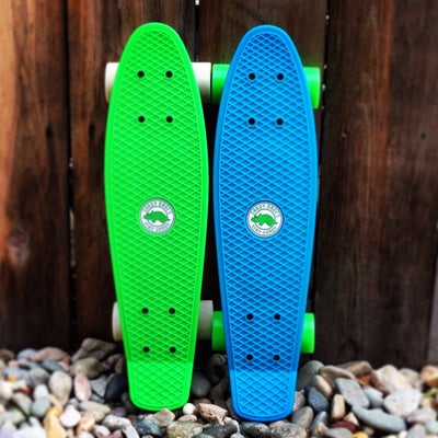 Image of SHADY SKATE (SHADY BAY BLUE & SLIME GREEN)