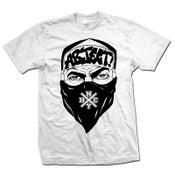"""Image of ABJECT! """"Bandana Guy"""" White T-Shirt"""