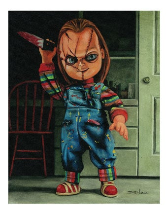 Image of Chucky Playing