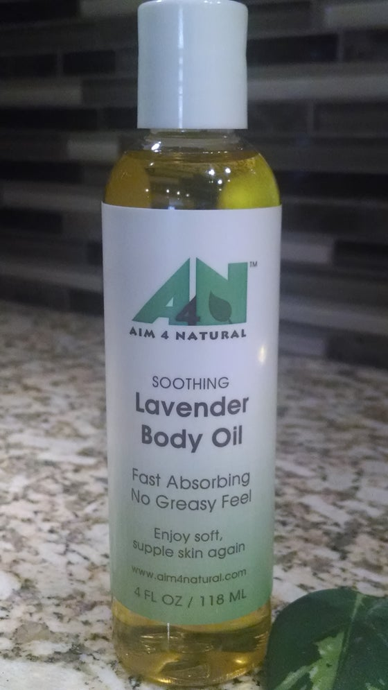 Image of Soothing Lavender Body Oil 4oz./118ml