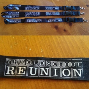 Image of The Old School Reunion Logo Lanyards