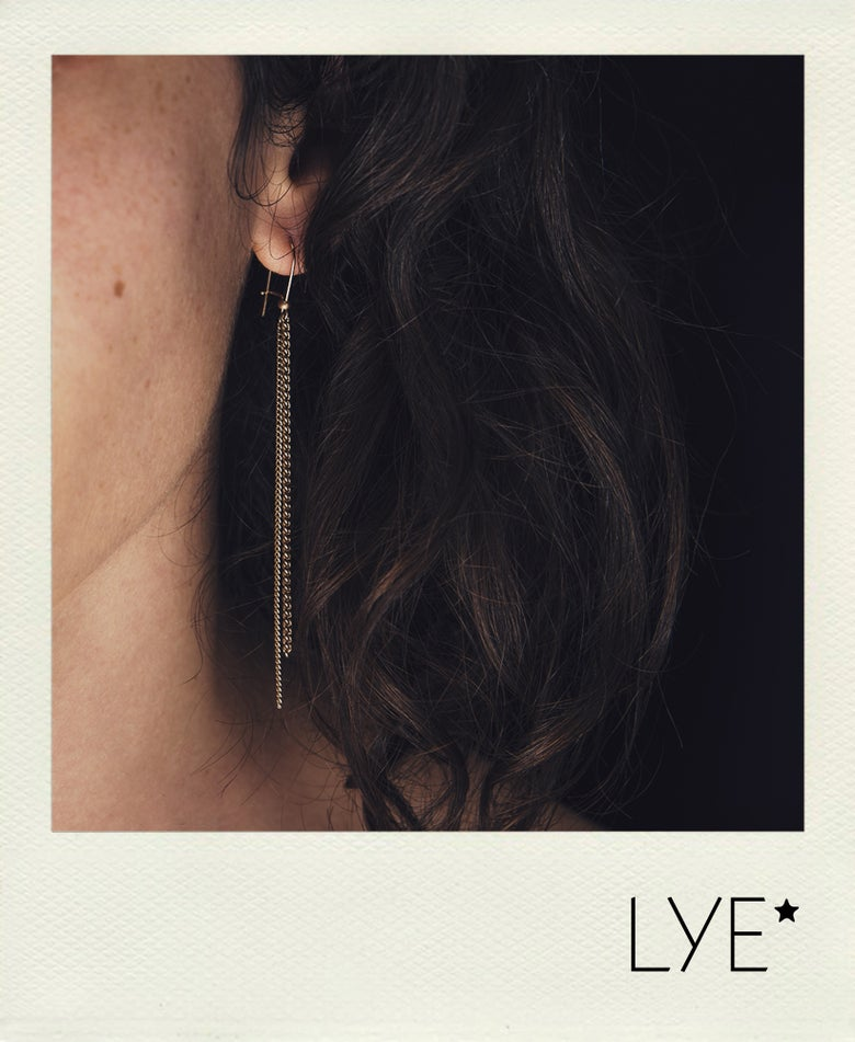 Image of Boucle d'oreilles 2 rangs Unchained